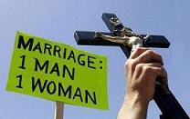 Protestors Rally Against Gay Marriage In Boston